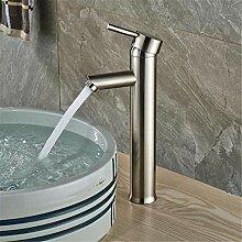 Wasserhahn Waschbecken Mixer Chrom Wasserfall Led