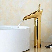 Wasserhahn Waschbecken Mixer Golden Waschbecken