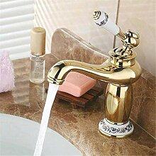 Wasserhahn Waschbecken Mixer Schwarz Rose Gold