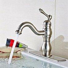 Wasserhahn Waschbecken Mixerdeck montiert