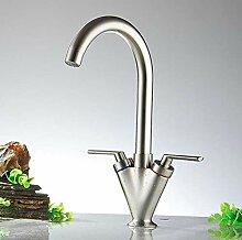 Wasserhahn Waschbecken Wasserhahn Messing Schwarz