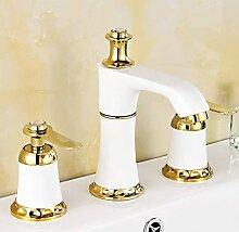Wasserhahn Waschbecken Wasserhahn Mit Goldenem