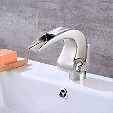 Wasserhahn,Waschbecken Wasserhahn Nickel