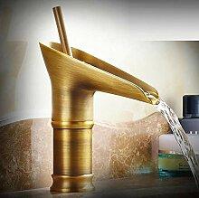 Wasserhahn Waschbecken Wasserhahn Weinglas Stil