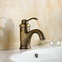 Wasserhahn Waschtischarmatur Antike Messinghahn