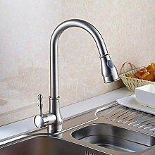 Wasserhahn Waschtischarmatur Küche Pull