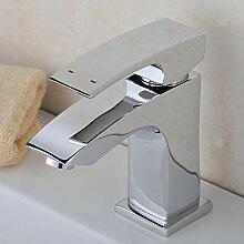 Wasserhahn Waschtischarmatur Kupfer Einseitiger