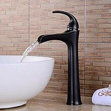 Wasserhahn Waschtischarmatur Kupfer Lift