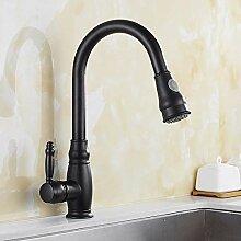 Wasserhahn Waschtischarmatur Schwarze Farbe Küche
