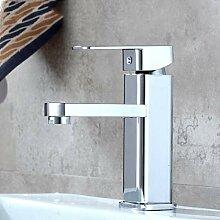 Wasserhahn,Waschtischarmaturen Chrom Moderne