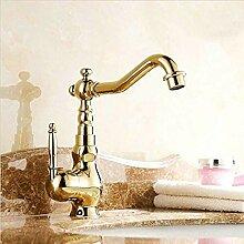 Wasserhahn Waschtischarmaturen Goldene