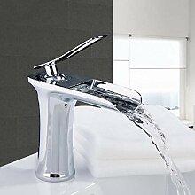 Wasserhahn Waschtischarmaturen Messing Wasserfall