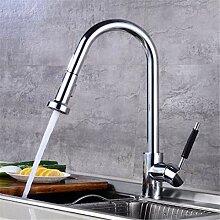 Wasserhahn Waschtischmischer chrome Pull Out