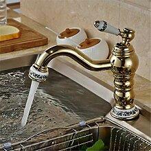 Wasserhahn Waschtischmischer Luxus Keramik Messing