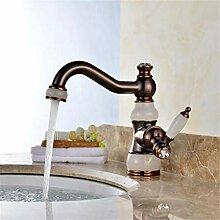 Wasserhahn Waschtischmischer Öl Gerieben Messing