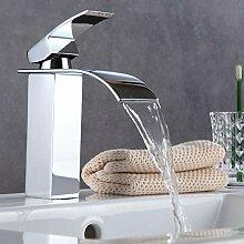 Wasserhahn Wasserfall Bad Mischbatterie Badarmatur