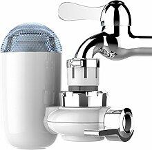 Wasserhahn Wasserfilter DAYU WORLD Küche Wasseraufbereiter Waschbecken Trinkwasser Wasserfilter Wasserreiniger mit 2 Mineral Filterelemen