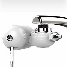 Wasserhahn Wasserfilter, EgoEra® Leitungswasser Filter Reiniger / Wasseraufbereiter Trinkwasser / Wasserfilter Wasserreiniger Trinkwasser für die Küche mit Waschbarem Keramischen Filterkern
