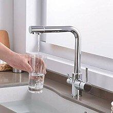 Wasserhahn Wasserfilter Küchenarmatur Drei