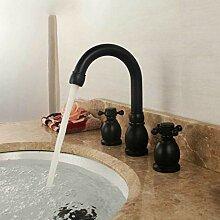 Wasserhahn Wasserhahn Becken Schwarzes Messing