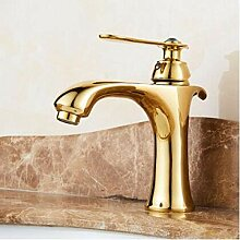 Wasserhahn Wasserhahn Gold Finish Luxus Bad