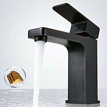 Wasserhahn Wasserhahn schwarz Waschbecken