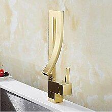 Wasserhahn Wasserhahn Wasserhähne Gold Messing
