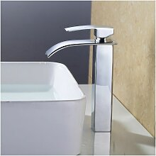 Wasserhahn Wassrerfall Hohe Badarmatur Armatur