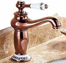 Wasserhahnbad Waschbecken Wasserhahn Rose Gold