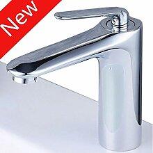 Wasserhahnbadezimmer Waschbecken Mischbatterien