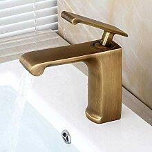 Wasserhahnbadezimmer Waschbecken Wasserhahn - Vor
