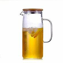 Wasserkaraffe,Hitzebeständiger Kalter Glas