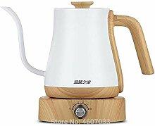 Wasserkocher 1l Edelstahlkessel Kaffeekanne