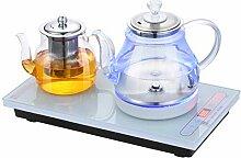 Wasserkocher 1L, Elektrisch Glaskesse, Elektrische
