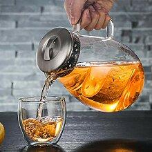 wasserkocher Glaskaraffe Glaskrug Glaskanne aus