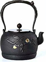 Wasserkocher Gusseisen Teekanne Stil Eisen
