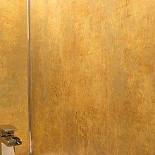 Wasserkocher Kupfer panels-pvc-perfect für Badezimmer Küche Dusche Wände und ceiling- Wasserkocher Kupfer-100% wasserdicht (4Stück)