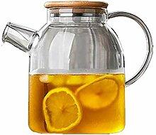 Wasserkocher Teekanne 1800ml Glas Wasserkocher mit