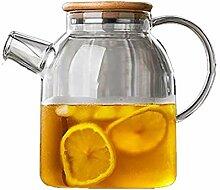 Wasserkocher Teekanne Glas Wasserkocher mit Sieb