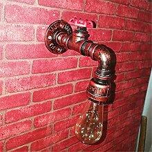 Wasserleitungswandlampe, Retro-