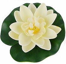 Wasserlilie aus Polyethylen, Blumendekoration,