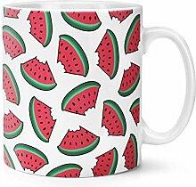 Wassermelone Muster 283g Becher Tasse