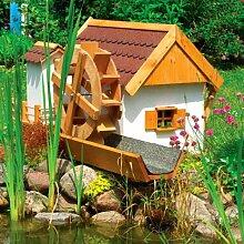 Wassermühle JEVER 110x74x59cm Gartenmühle inkl. elektrischer Pumpe