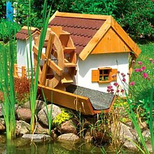 Wassermühle JEVER 110x74x59cm Gartenmühle inkl.