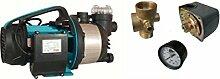 Wasserpumpe 1300W 80l/min inkl. Filter