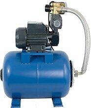 Wasserpumpe 750W 50 l/min inkl. 24 L Druckschalter
