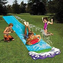 Wasserrutsche Garten Wasserbahn Kinder Rutsche