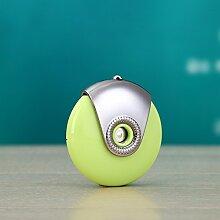 Wasserspray Schönheit Instrument Sommer muss Mini Befeuchtung 60 * 60mm , light green