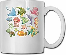 Wassertier Sea Fashion Coffee Cup Porzellan Tassen