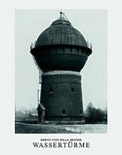 Wassertürme als Buch von Bernd Becher/ Hilla